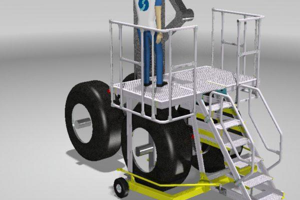 Multiple Leg Access Platform