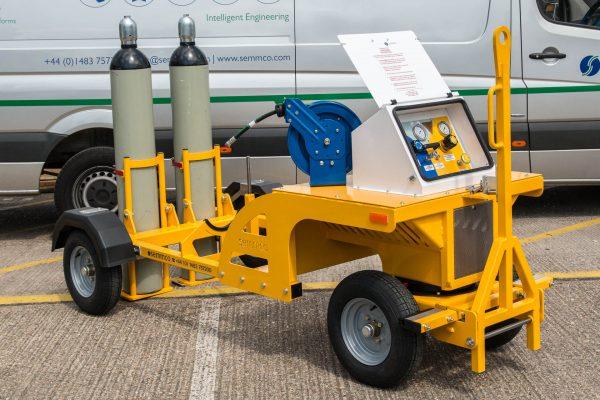Nitrogen Trolley – 2 Cylinder Demountable