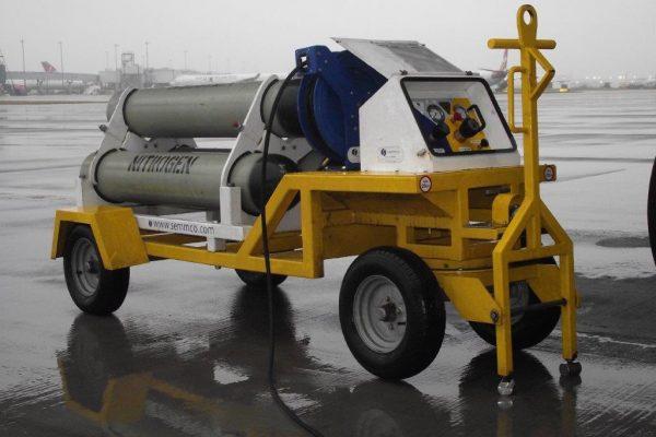 Nitrogen Trolley – 3 Cylinder Fixed (Mk12 65L)