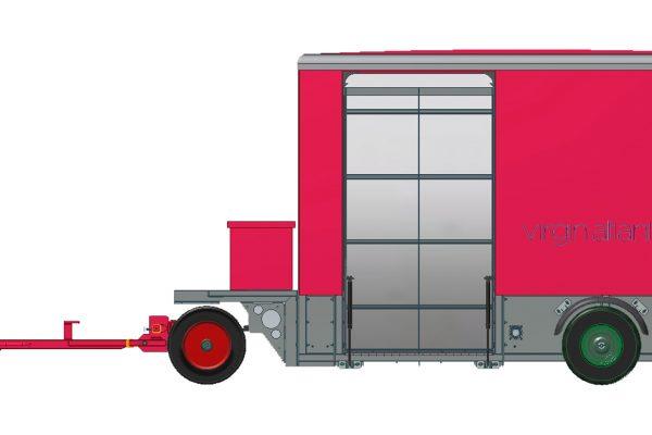 Wheel & Brake Service Trailer (WBST) MEDIUM with RA rear & side ramp