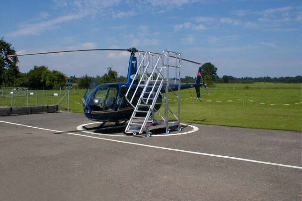 Fixed Height Helicopter Rotor Access Platform