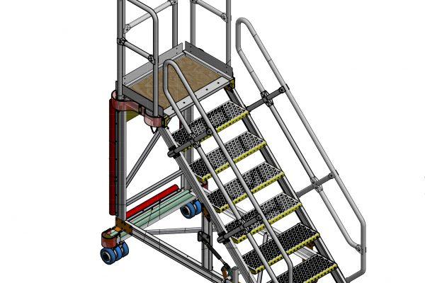 HOP UP General Engine Access Platform 7 Step H1.74m