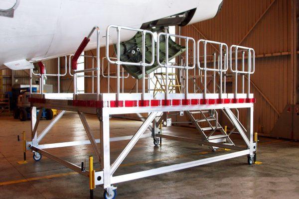 B737 APU Platform