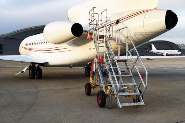 Variable Height UCAS XS Access Platform 1.75m – 2.5m (towable)