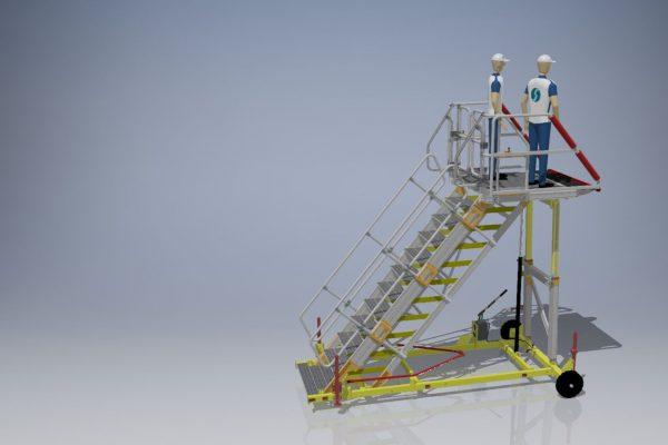 Bulk cargo Bay A320 Variable height 1.7-3.0m