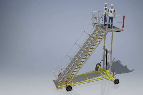 Variable Height Platform H2.5m | 4.5m | W2.2m