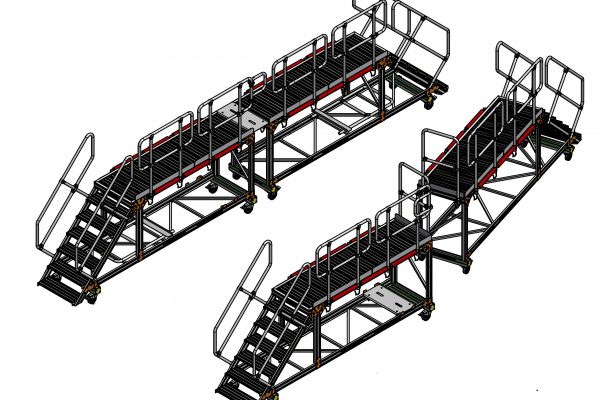 Side Door Access Platform – Universal H1.45m
