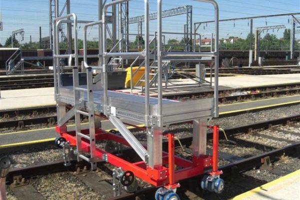 Rail Front Access Platform H0.85m