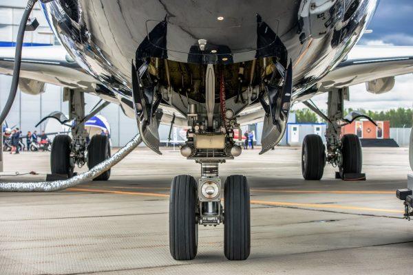 A320 Fixed Height Main Landing Gear Access Platform (towable)