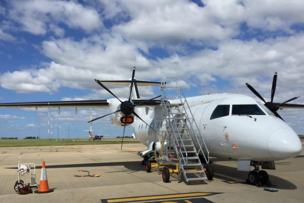 Fixed Height Towable Universal Access Dornier 328 Maintenance Steps H3.0m