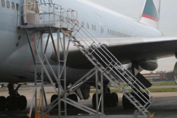 Fixed Height Engineers Maintenance Platform