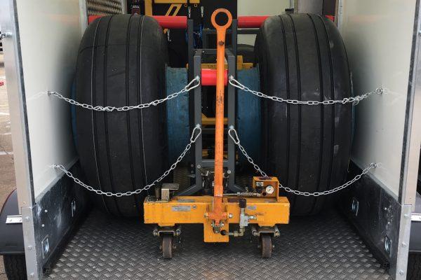 Wheel & Brake Service Trailer (WBST) LARGE with RT Side & Rear Ramp