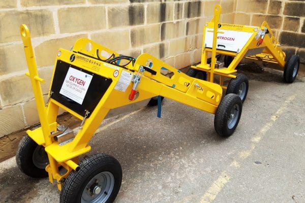 Nitrogen SMART Trolley – 3 cylinder demountable