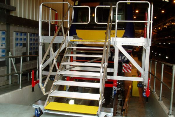 Fixed Height Rail Front Access Platform  H1.5m
