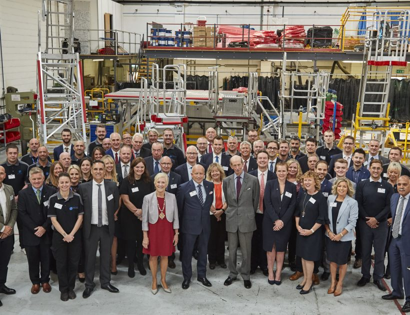 Surrey Chambers of Commerce: Local engineering company celebrates royal presentation of Queen's Award for International Trade