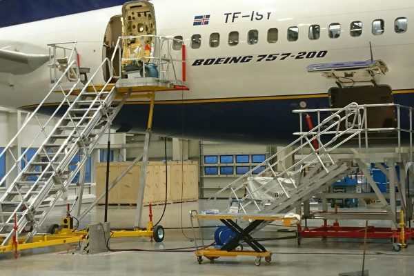 Engineers Maintenance Platform 2.5 4.5 Variable Height Cargo Bay Platform 812.101.08 e1621245644436