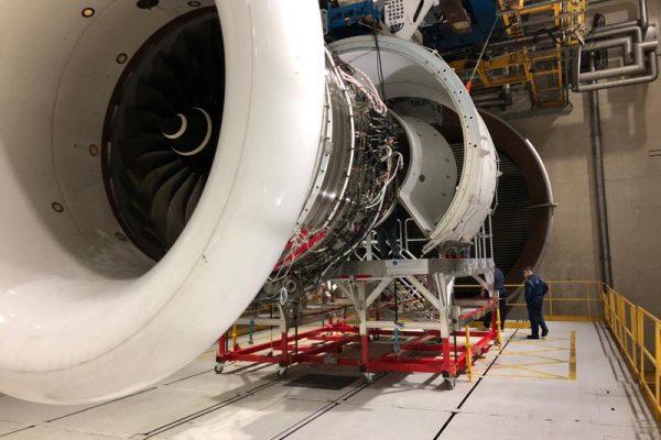 Variable Height Under Engine Core Platform