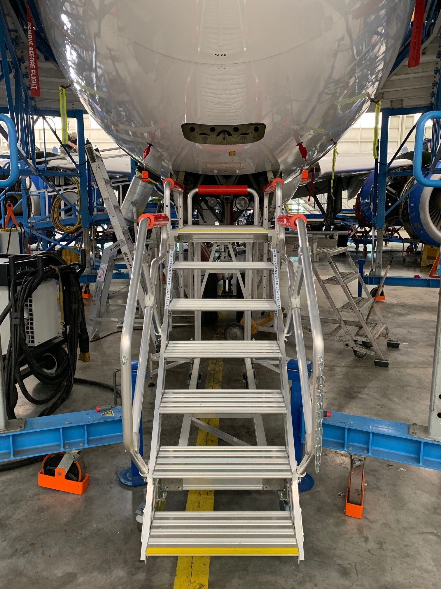 Lufthansa Technik Puerto Rico: standardising access to the intricate nose avionics area