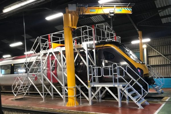 Alstom & Arriva Trains: Double Sided Roof & Door Access Platform
